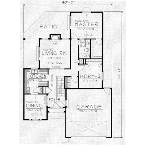 1150 sq ft house plans traditional style house plan 2 beds 1 baths 1150 sq ft plan 112 105