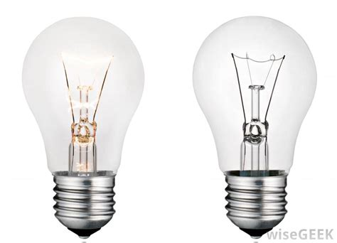 how is a light bulb different from a resistor what are the different types of incandescent light