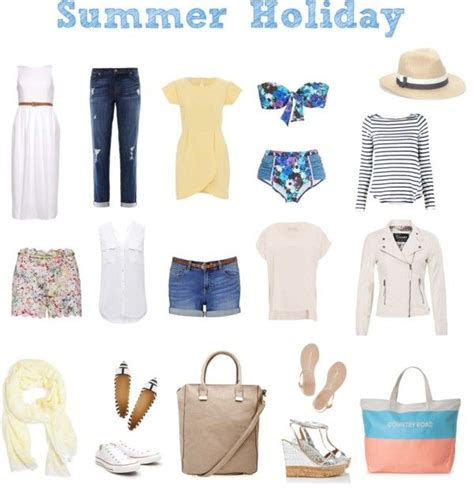 Summer Wardrobe Essentials by Wardrobe Essentials For Summer Wardrobe