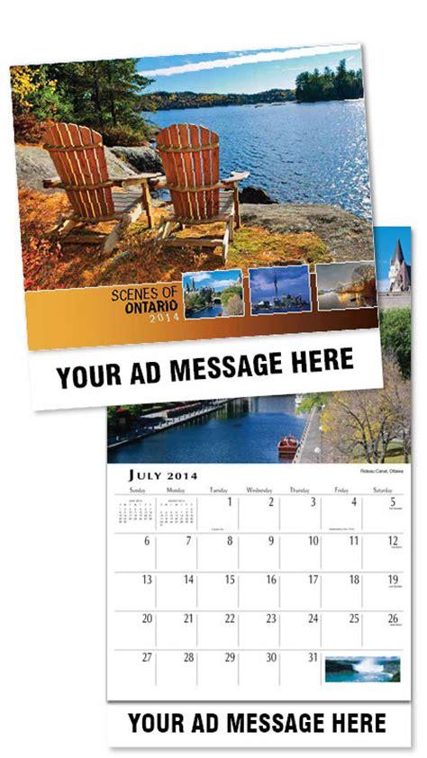 custom of ontario calendars personalized in bulk