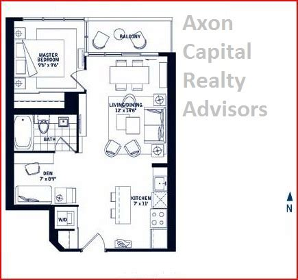 maple leaf square floor plans maple leaf square 1 bedroom den portland 595 sq 02