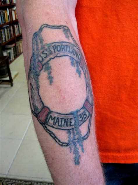 the maine tattoos strange maine may 2010
