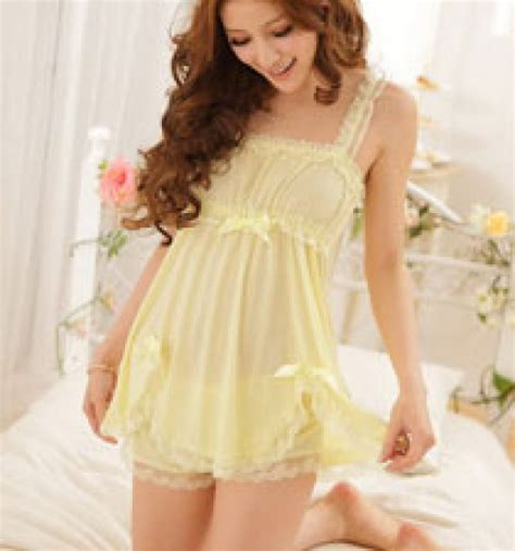 Model Gaun Tidur Transparan koleksi baju tidur pengantin malam pertama baju tidur