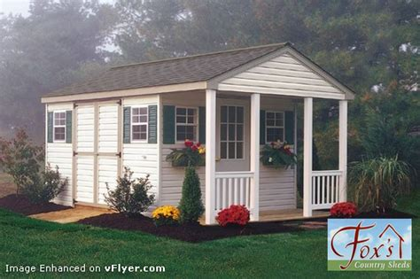 Shed With Porch Plans by Storage Shed Plans With Porch Build A Garden Storage