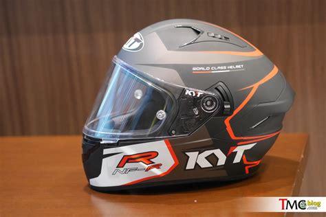 Helm Kyt Nama vlog review bedah detail helm kyt nf r aerodinamikanya juara tmcblog
