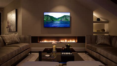 Luxury Fireplaces by Fireplace Designs With Tv Above Ward Log Homes