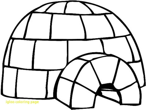 penguin igloo coloring page igloo coloring page with igloo color pages coloring pages