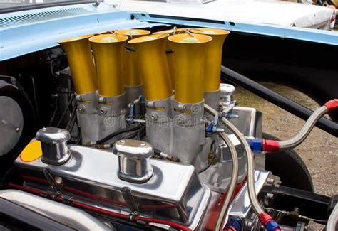 vintage chevy chevrolet engine  stock image image