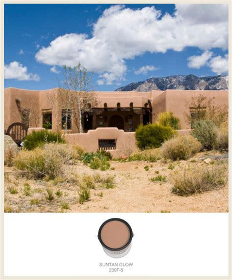 southwest adobe homes colorfully behr southwestern style adobe homes
