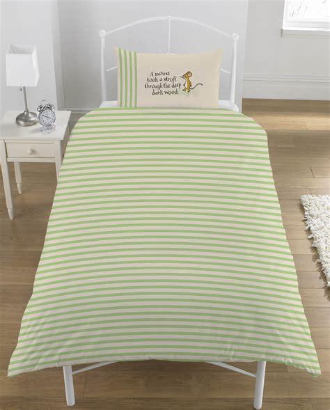 Gruffalo Bed Set Wholesale Bulk Gruffalo Woodland Single Duvet Cover Wholesaler Character Bedding Best