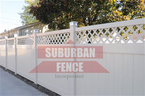vinyl fence installation downers grove il fence company