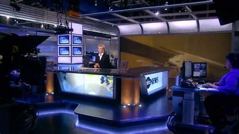 Abc News Desk by Abc News New Anchor Desk Set World News With Diane