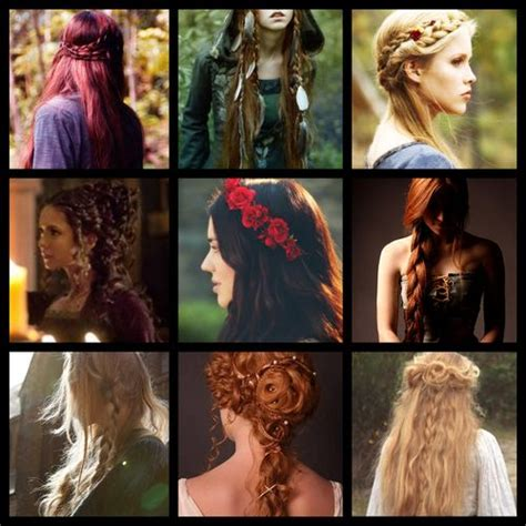 vikings hairstyles customes beautiful quot medieval inspired quot hairstyles viking