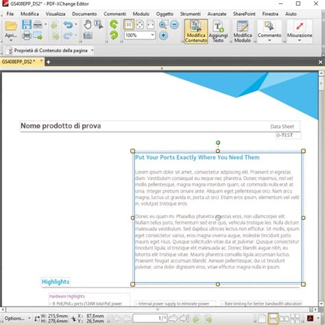 modifica testo pdf come modificare file pdf ilsoftware it