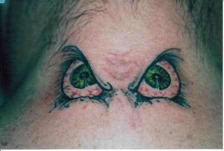 tattoo eye on neck eye tattoos and designs page 245