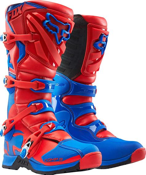 dirt bike riding boots mens 2016 fox racing comp 5 boots motocross dirtbike mx atv