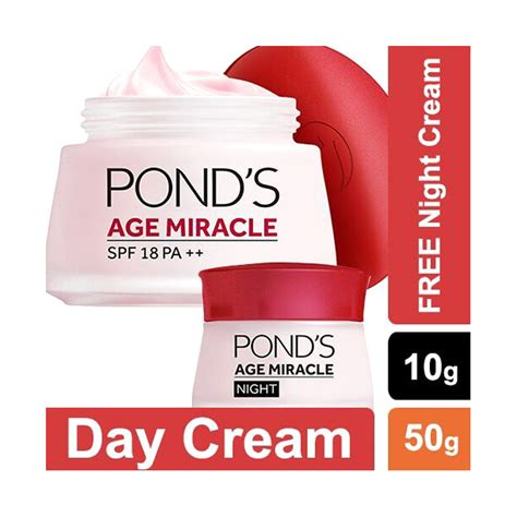 Harga Ponds Age Miracle jual pond s age miracle day jar 50gr ponds age