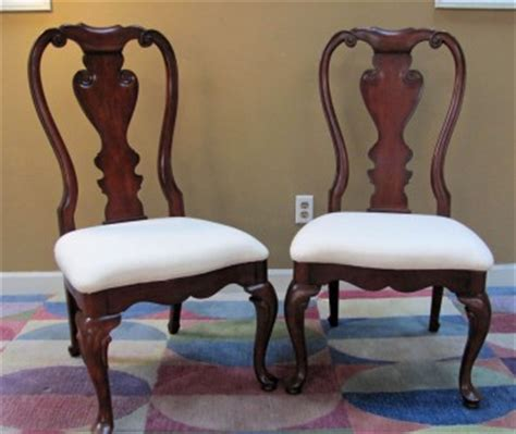 Thomasville Dining Chairs Discontinued Thomasville Collectors Cherry Dining Chairs Set Ebay