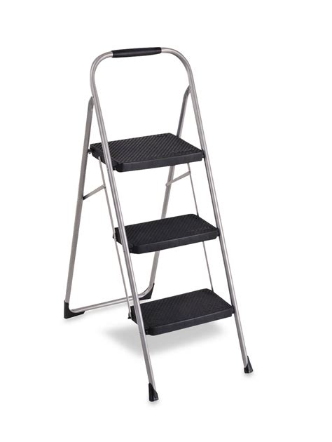 3 Step Big Step Stool by Cosco Home And Office Products 3 Step Big Step Stool