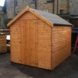 new tongue groove 4ft x 4ft t g garden wooden shed 4x4 hut