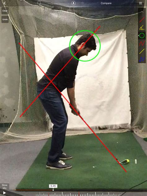 slow golf swing technique hudl technique golf slow motion swing analysis on the app
