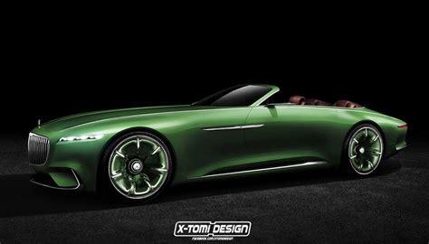 maybach vision 6 cabrio render looks intriguing