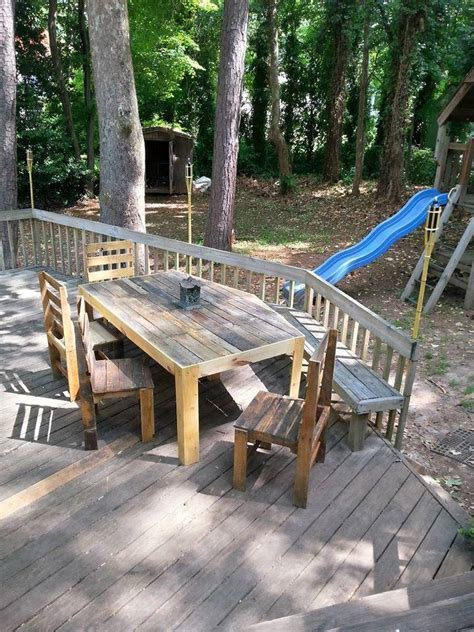 Deck And Patio Furniture Pallets Patio Deck And Furniture Pallet Ideas Recycled
