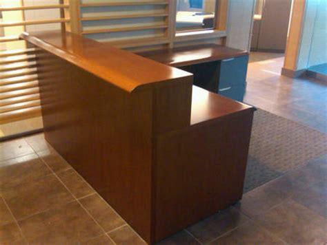 Steelcase Reception Desk Steelcase Avenir Reception Desk Conklin Office Furniture