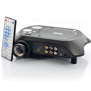 Tv Tuner Proyektor led multimedia projector with dvd player built in tv tuner auction graysonline australia