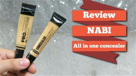 Nabi All In One Concealer Yellow review nabi cosmetics all in one concealer