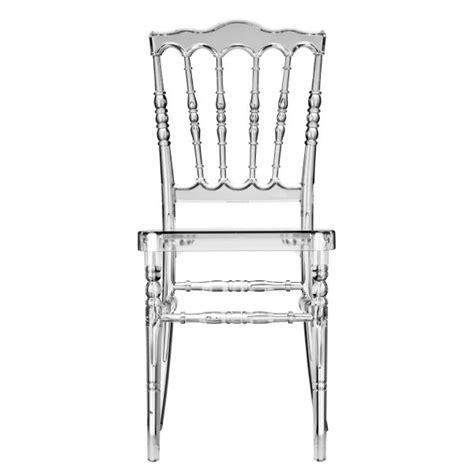 chaise napoleon transparente chaise napol 233 on iii transparente deco et saveurs com