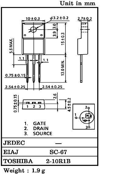 K2996 DATASHEET PDF