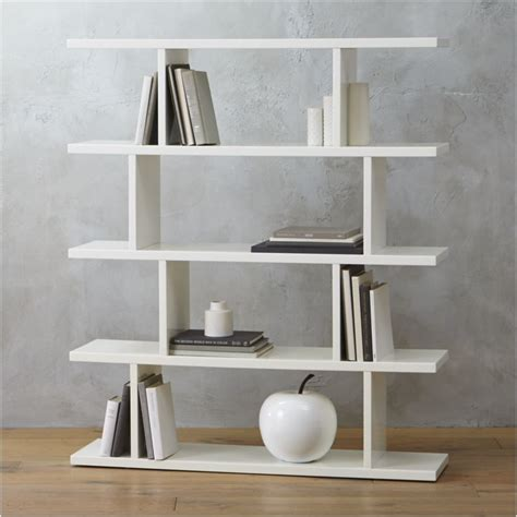 white folding bookcase 3 14 modern white bookcase in bookcases reviews cb2