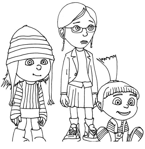 Free Coloring Pages Of Boy Minion Despicable Me Coloring Pages