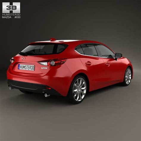 2013 mazda 3 models mazda 3 hatchback 2014 3d model hum3d