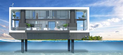 hurricane proof boats these hurricane proof floating homes are packed with green