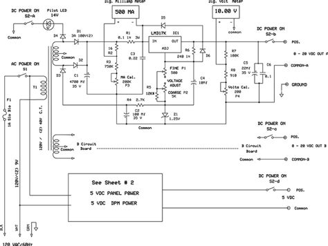 lifier layout guidelines a test bench power supply nuts volts magazine