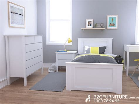 white single bedroom suite bedroom suites single white b2c furniture