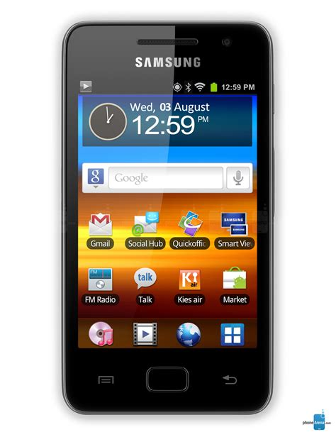 Samsung S Wifi samsung galaxy s wifi 3 6 specs
