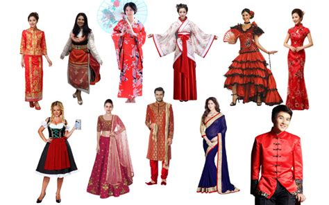 Typical Decor Styles From Around The World | ethnic costumes around the world costume model ideas