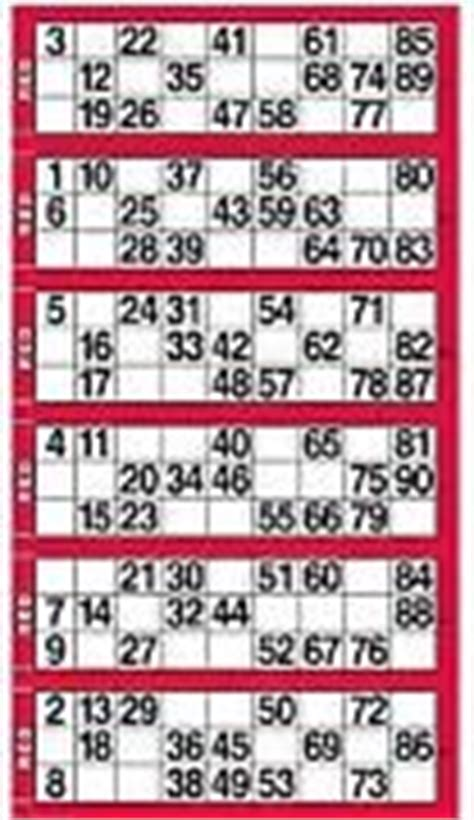printable bingo tickets uk bingo cards ebay
