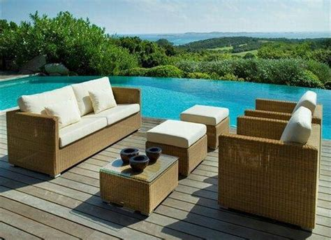 trendy patio furniture hometone