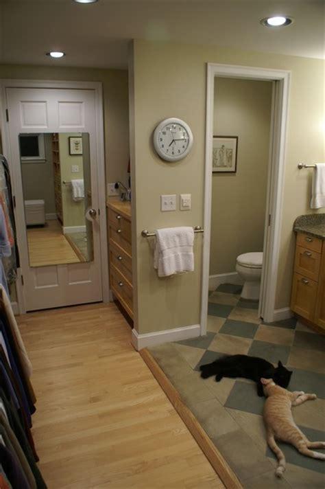 bathroom and closet combo birmingham mi master closet bath combination