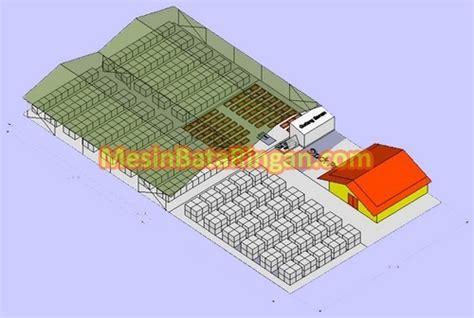 layout gudang material hamsa makmur jaya ulasan ringkas teknologi bata ringan