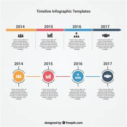 Free Timeline Templates by Infographic Timeline Template Vector Free