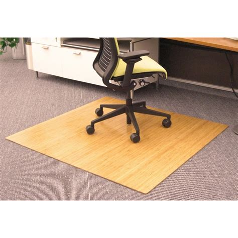 Bamboo Desk Chair Mat by 48 X 52 Roll Up Bamboo Chairmat By Anji Mountain In Chair Mats