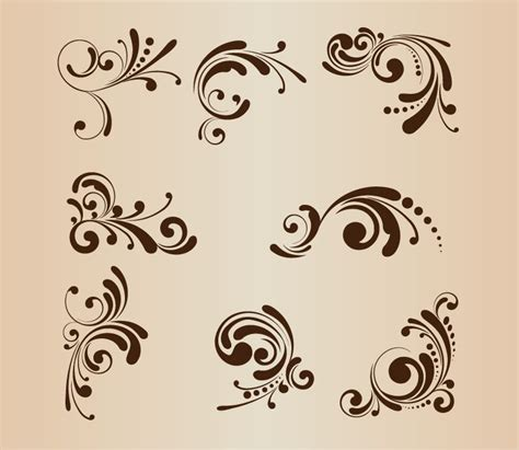 flower pattern design vector floral patterns for design vector illustration free