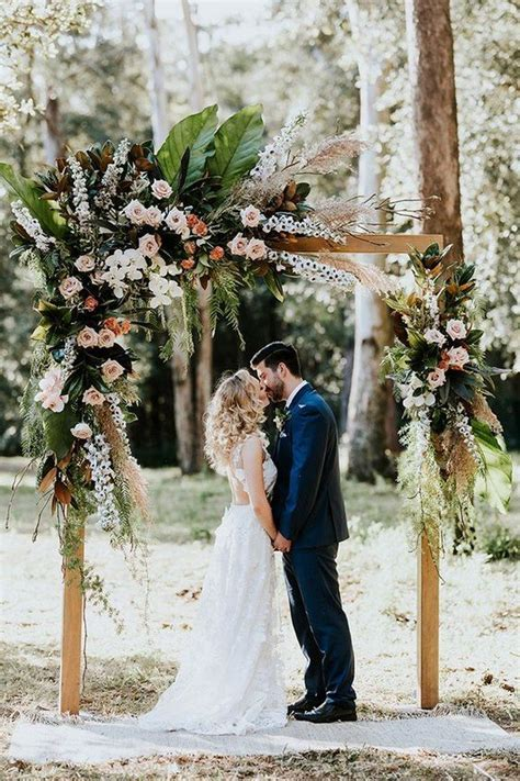 bohemian themed wedding arch ideas   Oh Best Day Ever