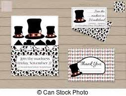 Mad Hatter Hat Card Template by Nothing But A Pack Of Cards In In
