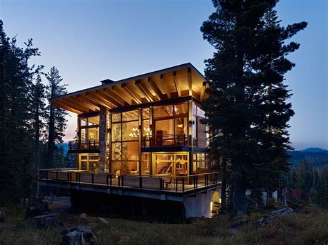 Cabin Plans Modern Classic Ski Cabin Design Meets Contemporary Luxury At The